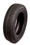 O pneu de carro isolou-se imagem de stock royalty free