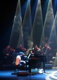 O PNF Zade Dirani do piano executa em Barém, 2/10/12 Imagem de Stock