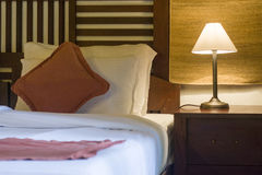O poço decorou a sala da cama Imagens de Stock Royalty Free