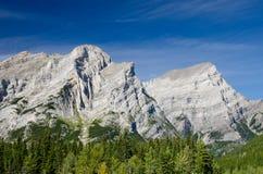 O poder da natureza visível em Rocky Mountains Fotos de Stock