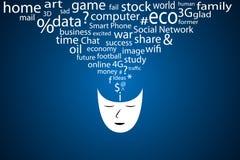 O poder das ideias. Ideal para diário Foto de Stock Royalty Free