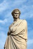 O poeta famoso Dante Alighieri Fotos de Stock