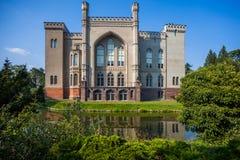 O Polônia do castelo de Kornik fotos de stock