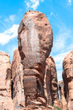 O polegar no vale do monumento, o Arizona Fotos de Stock