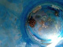 O polistov das vespas do ninho Vespiary foto de stock royalty free