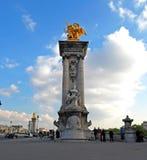 O Pont Alexandre III Imagem de Stock