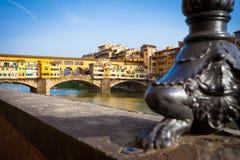 O Ponte Vecchio Imagens de Stock
