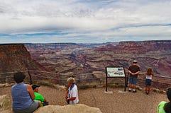 O ponto da vista de Grand Canyon Fotos de Stock