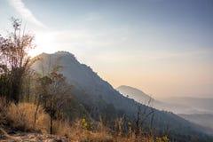 O ponto de vista do hillsKottappara de Kottapara é a adição a mais nova ao turismo no distrito de Idukki de Kerala fotos de stock