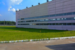 O ponto do enterro dos resíduos radioativos do Chernobyl fotografia de stock royalty free