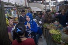 O PONTO INICIAL ELEITORAL DE INDONÉSIA Imagens de Stock Royalty Free