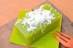 O poon de Kanom Piak é nome da sobremesa tailandesa imagens de stock