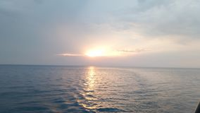O por do sol Imagem de Stock