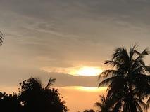 O por do sol Imagem de Stock Royalty Free