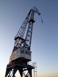 O por do sol cranes iii Imagem de Stock