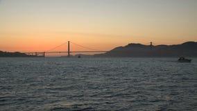 O por do sol de golden gate bridge filme