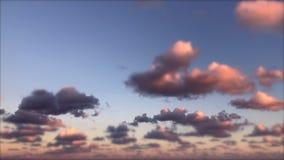 O por do sol nubla-se o lapso de tempo Miami filme