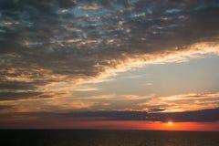 O por do sol que o mais bonito você ll do ` vê nunca Imagens de Stock