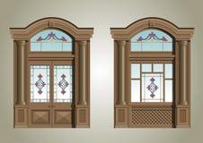 O portal da entrada Imagens de Stock