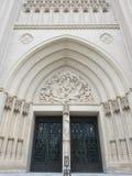 O portal nacional da catedral imagens de stock royalty free