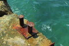 O porto de embarcadouro velho Imagens de Stock