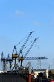 O porto de Hamburgo Fotografia de Stock