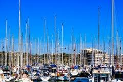O porto de Lagos imagem de stock royalty free