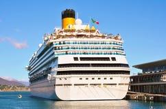 O porto de Savona, Itália Fotografia de Stock Royalty Free