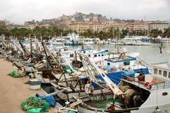 O porto do La Spezia foto de stock