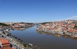 O Porto e Vila Nova de Gaia Foto de Stock