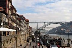 O Porto em dezembro A cidade da outra época Foto de Stock