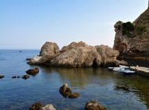 O porto ocidental - Dubrovnik fotos de stock