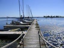 O porto perfura Fotografia de Stock Royalty Free