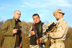 O poster de filme do soldado gosta Imagens de Stock