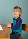 O pré-escolar caçoa a educação Fotos de Stock Royalty Free