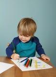 O pré-escolar caçoa a educação Imagens de Stock Royalty Free
