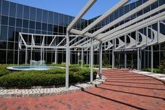 O prédio de escritórios Fotografia de Stock