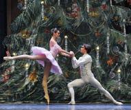 O príncipe à quebra-nozes do bailado do confissão-quadro 3-The de Clara Foto de Stock