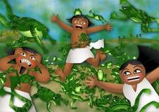 O praga das rãs ilustração royalty free