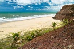 O Praia faz o amor, Brasil Foto de Stock Royalty Free