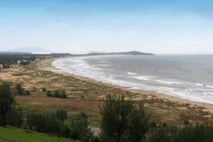 O Praia faz o soldado - Laguna - Santa Catarina - Brasil Fotografia de Stock