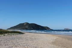 O Praia faz polis do ³ de Santinho - de FlorianÃ, Santa Catarina - Brasil Fotos de Stock