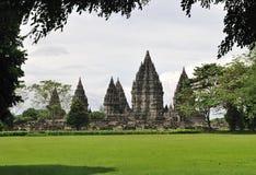 O Prambanan Fotos de Stock Royalty Free