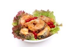 O prato serido dos peixes Foto de Stock Royalty Free