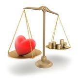 O preço do amor Imagem de Stock Royalty Free