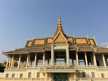 O Preah Thineang Chan Chhaya Moonlight Pavilion fotografia de stock