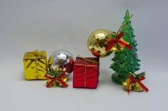 O presente do dia de Natal Foto de Stock