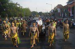 O PRESIDENTE SEGUINTE JOKOWI DE INDONÉSIA Imagens de Stock Royalty Free