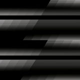 O preto alinha o fundo abstrato Imagens de Stock Royalty Free