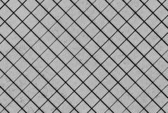 O preto da grade da página do caderno da matemática listra a textura Imagem de Stock